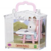 THE SYLVANIAN FAMILIES-ΛΑΓΟΥΔΑΚΙ ΜΕ ΚΑΡΕΚΛΑΚΙ  ΦΑΓΗΤΟΥ