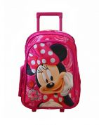 PAXOS ΣΑΚΙΔΙΟ TROLLEY MINNIE PINK