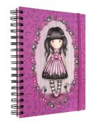 GORJUSS SANTORO DOUBLE WIRO-BOUND JOURNAL SUGAR & SPICE