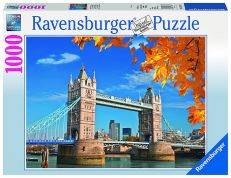 RAVENSBURGER ΠΑΖΛ 1000 τεμ. VIEW OF TOWER BRIDGE