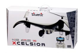 SILVERLIT REMOTE CONTROL 2.4G XCELSIOR DRONE WITH CAMERA & WIFI