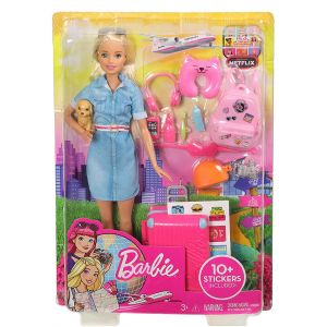 BARBIE DREAMHOUSE ADVENTURES BARBIE READY FOR TRIP