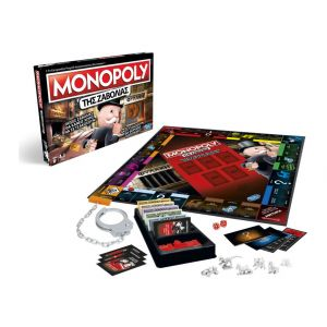 TABLE GAME MONOPOLY CHEATERS EDITION