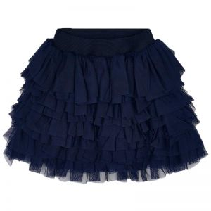 MAYORAL SKIRT FRILLS TULLE NAVY BLUE