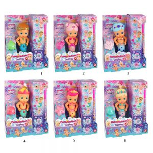 TOY CANDLE DOLL MERMAID - 6 DESIGNS