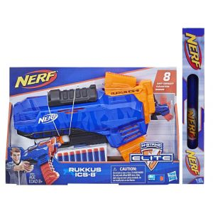 TOY CANDLE NERF ELITE RUKKUS ICS-8