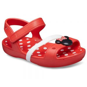 CROCS LINA MINNIE SANDAL K FLAME