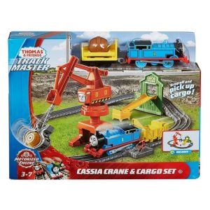FISHER PRICE THOMAS - TRANSPORTS WITH CRANE CASSIA WITH THOMAS