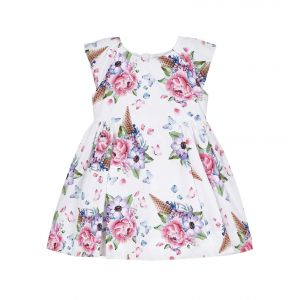 MAYORAL FLOWERS DRESS ROSEOLA