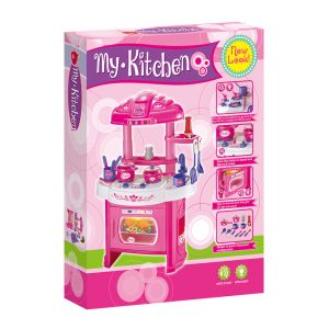 KITCHEN PLAY SET WITH MUSIC AND SOUND
