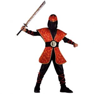 CARNIVAL COSTUME NINJA MASTER OF FIRE