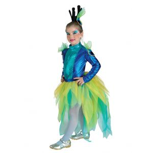 CARNIVAL COSTUME PEACOCKS\'S QUEEN