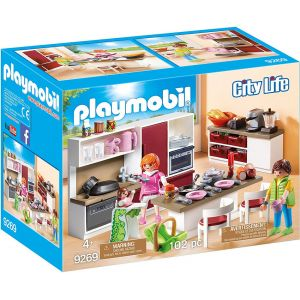 PLAYMOBIL CITY LIFE MODERN KITCHEN