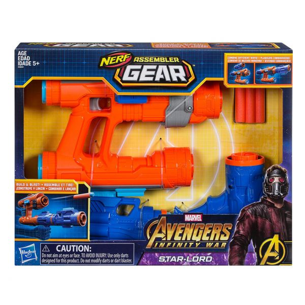 NERF ASSEMBLER GEAR STAR-LORD