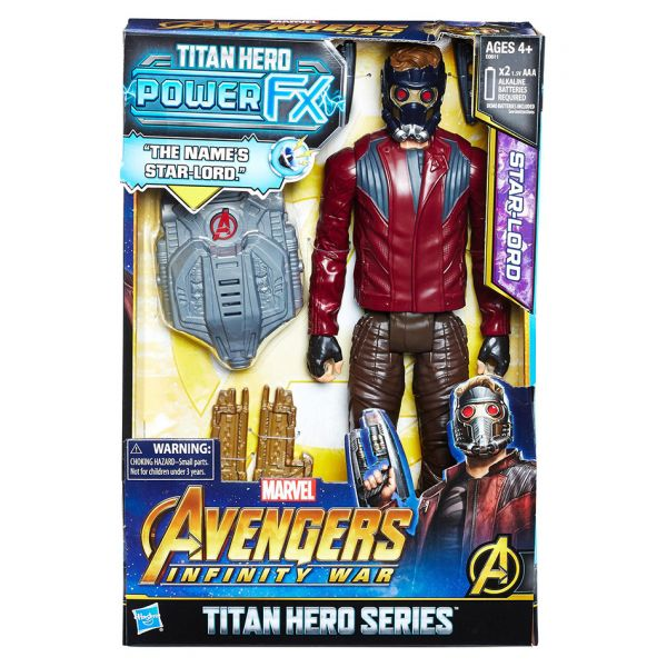 AVENGERS 12\'\' TITAN HERO POWER FX STARLORD