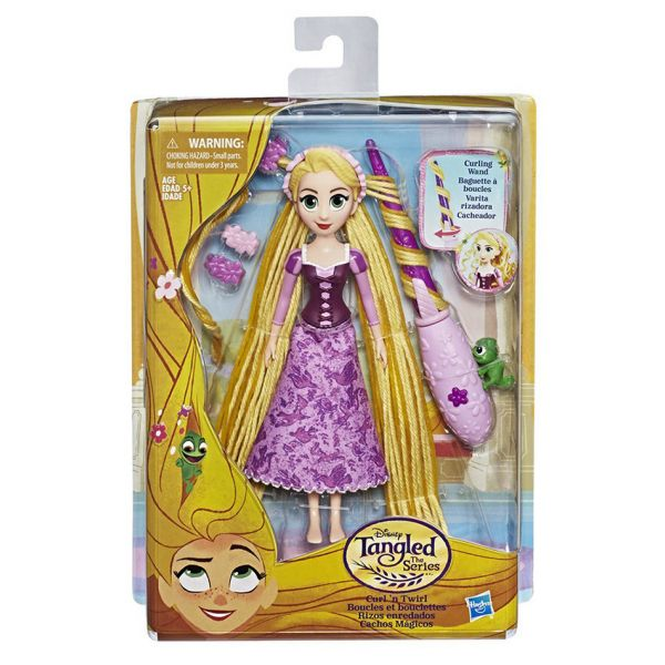 DISNEY PRINCESS TANGLED STORY DOLL CURL AND TWIRL