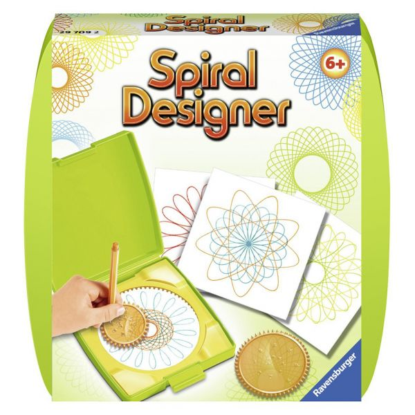 RAVENSBURGER MINI SPIRAL DESIGNER GREEN