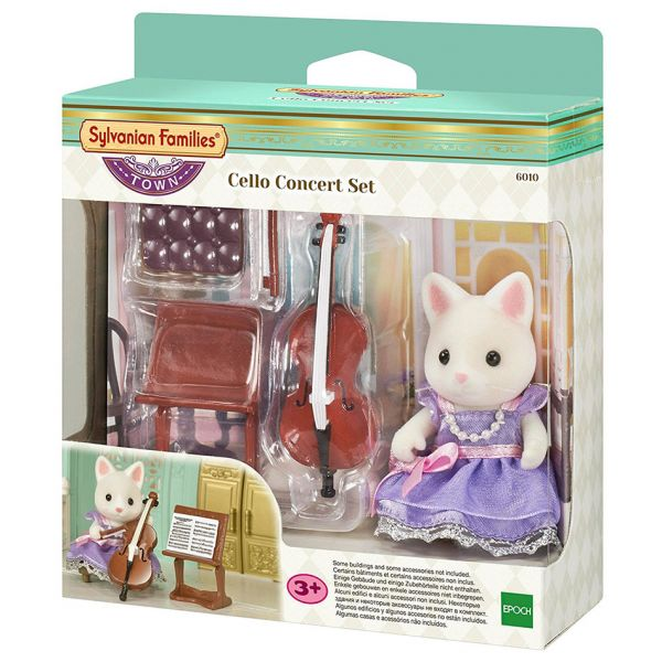 THE SYLVANIAN FAMILIES TOWN SERIES - ΚΟΝΤΣΕΡΤΟ ΤΣΕΛΟ