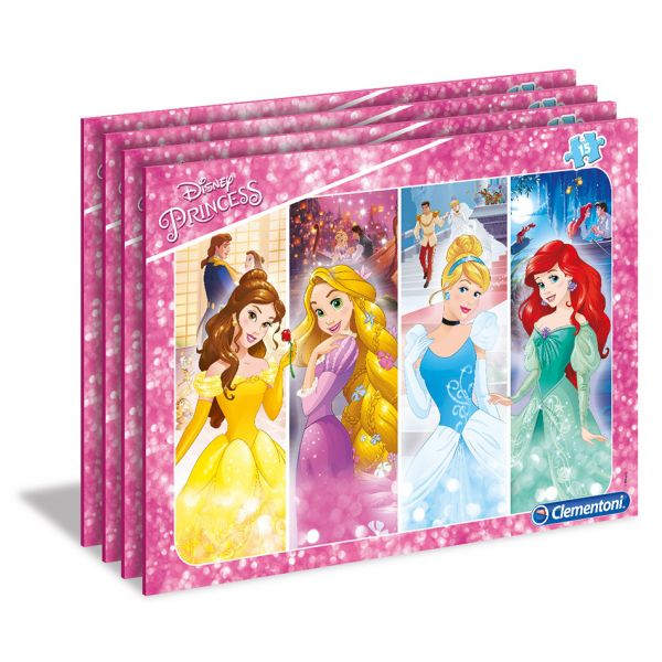 CLEMENTONI ΠΑΖΛ 15 SUPER COLOR DISNEY PRINCESS