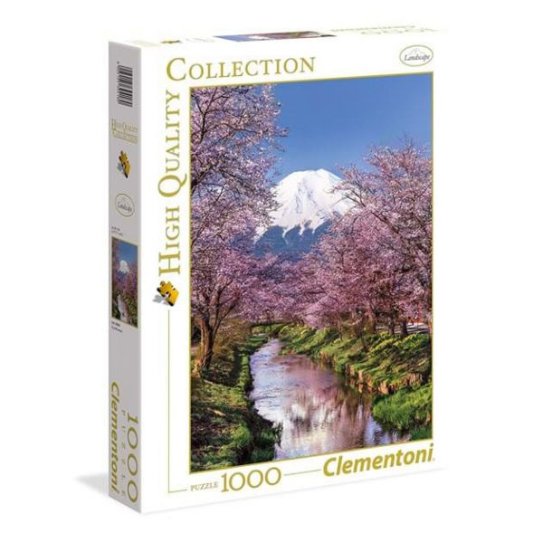 CLEMENTONI ΠΑΖΛ 1000 τεμ. HIGH QUALITY COLLECTION FUJI MOUNTAIN