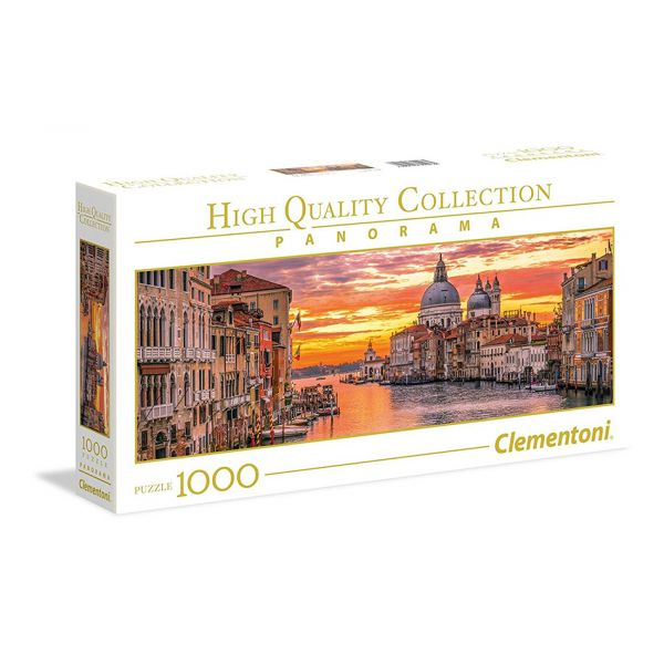 CLEMENTONI ΠΑΖΛ 1000 τεμ. HIGH QUALITY COLLECTION THE GRAND CANAL
