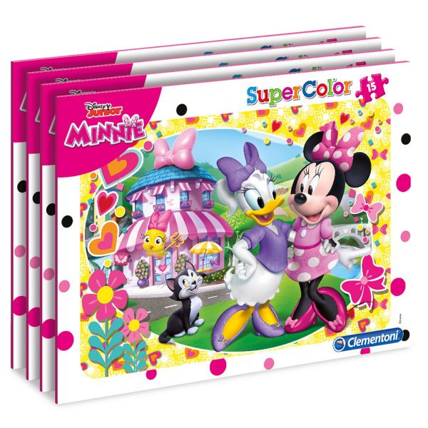 CLEMENTONI ΠΑΖΛ 15 S. C. MINNIE HAPPY HELPER