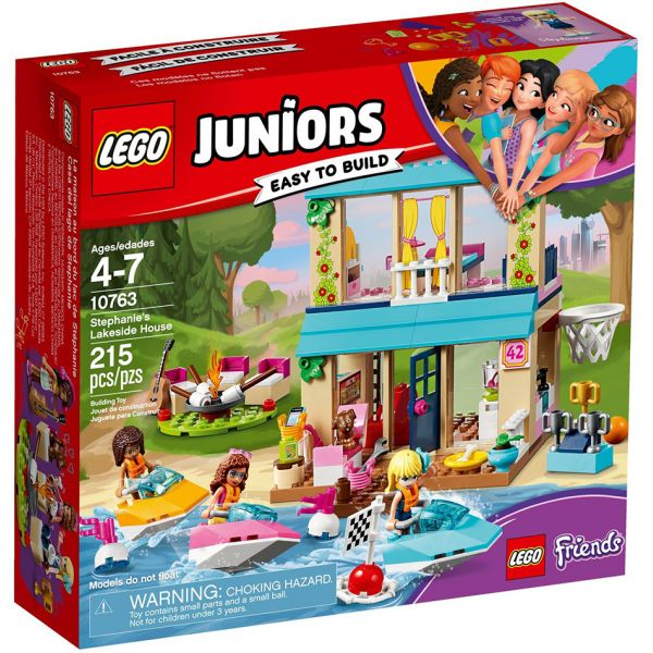 LEGO JUNIORS STEPHANIE\'S LAKESIDE HOUSE