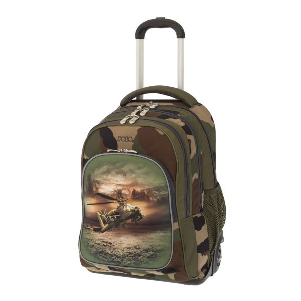c602dc4072 POLO BACKPACK TROLLEY TURBO ARMY