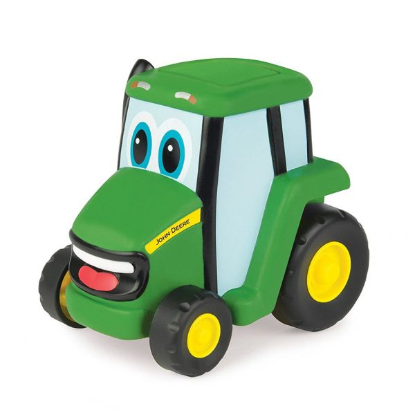 TOMY JOHN DEERE PUSH & ROLL JOHNNY TRACTOR