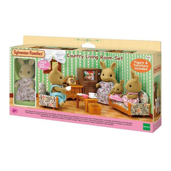 THE SYLVANIAN FAMILIES ΚΑΘΙΣΤΙΚΟ ΜΕ ΛΑΓΟΥΔΑΚΙ ΜΑΜΑ