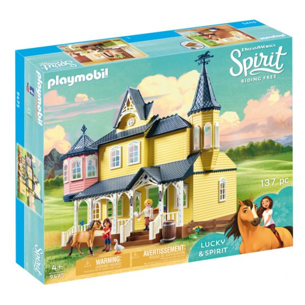 PLAYMOBIL SPIRIT RIDING FREE ΤΟ ΣΠΙΤΙ ΤΗΣ LUCKY