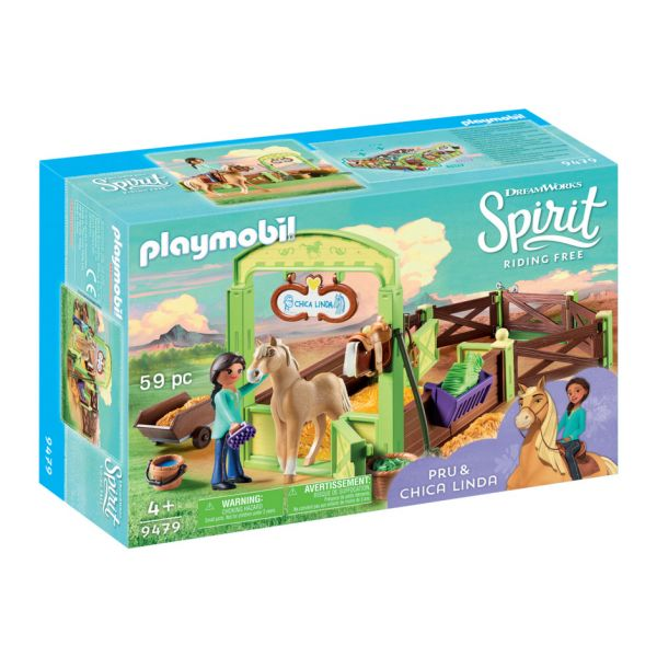 PLAYMOBIL SPIRIT RIDING FREE Η PRU ΜΕ ΤΟ ΑΛΟΓΟ CHICA LINDA