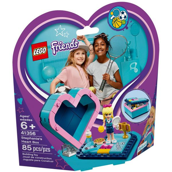 LEGO FRIENDS STEPHANIE\'S HEART BOX