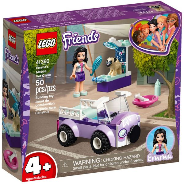 LEGO FRIENDS EMMA\'S MOBILE VET CLINIC
