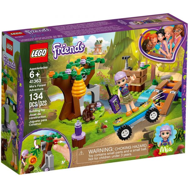 LEGO FRIENDS MIA\'S FOREST ADVENTURE