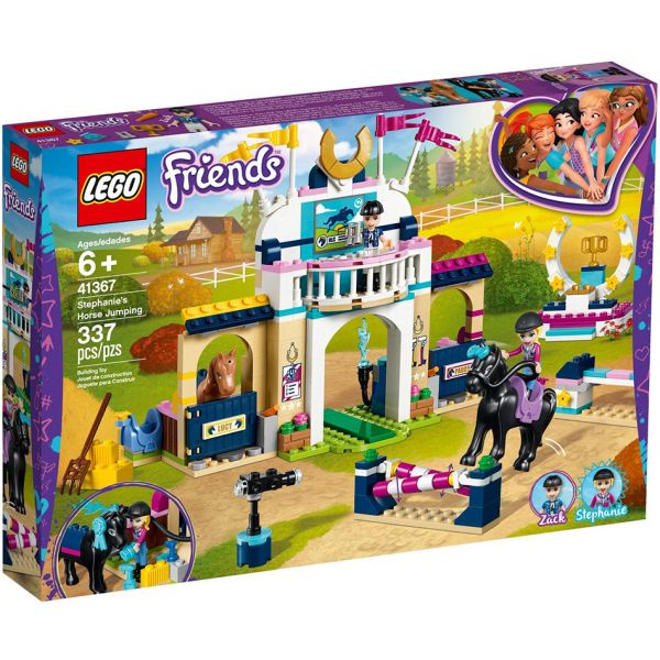 LEGO FRIENDS STEPHANIE\'S HORSE JUMPING