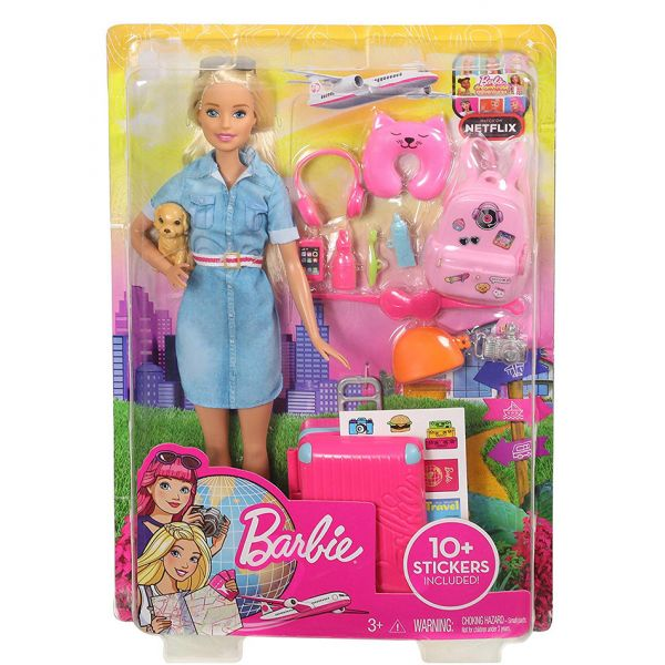 3db774230ab BARBIE DREAMHOUSE ADVENTURES BARBIE ΕΤΟΙΜΗ ΓΙΑ ΤΑΞΙΔΙ