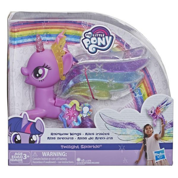 MY LITTLE PONY TWILIGHT SPARKLE MAGICAL FLUTTER & GLOW