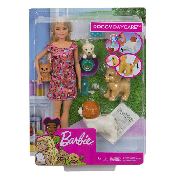 BARBIE DOGGY DAYCARE Η BARBIE ΚΑΙ ΤΑ ΣΚΥΛΑΚΙΑ ΤΗΣ