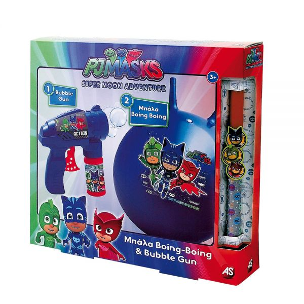 ΠΑΙΧΝΙΔΟΛΑΜΠΑΔΑ BOING-BOING & BUBBLE GUN PJ MASKS