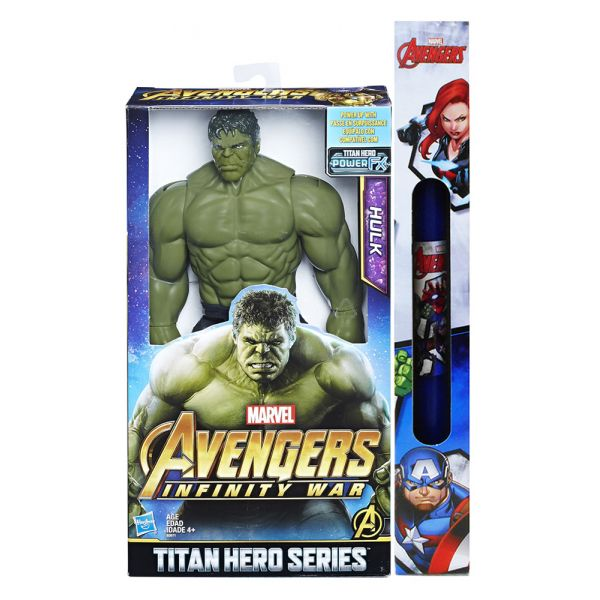 ΠΑΙΧΝΙΔΟΛΑΜΠΑΔΑ AVENGERS 12\'\' TITAN HERO SERIES FIGURE HULK