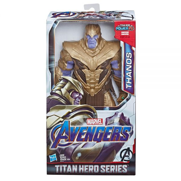 AVENGERS DELUXE TITAN HERO POWER WARRIOR THANOS
