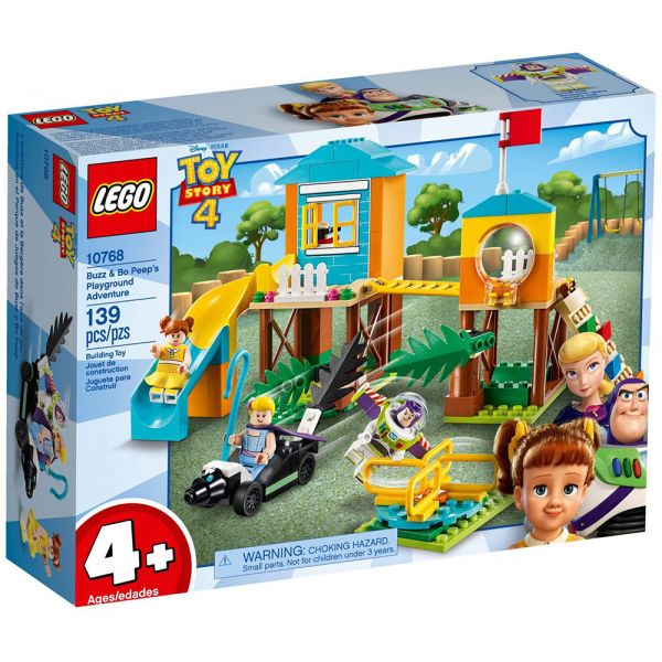 LEGO TOY STORY 4 ADVENTURES OF BUZZ AND BO PEEP ON PLAYGROUND