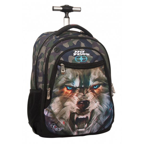 BACK ME UP TROLLEY NO FEAR ARMY WOLF