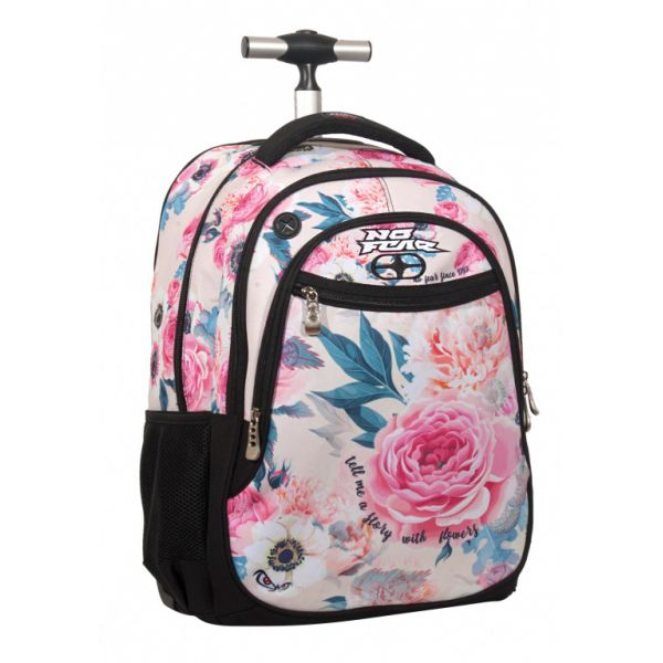 BACK ME UP TROLLEY NO FEAR PINK FLORAL