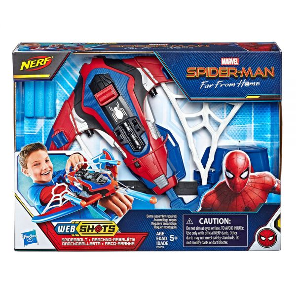 NERF SPIDERMAN MOVIE WEB SHOOTER
