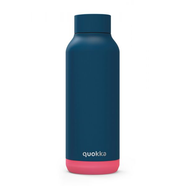 QUOKKA STAINLESS STEEL BOTTLE SOLID PINK VIBE 510 ml