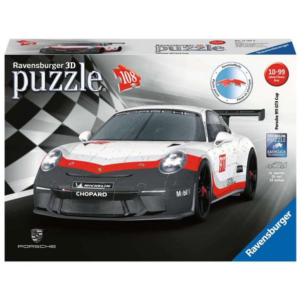 RAVENSBURGER 3D ΠΑΖΛ 108 τεμ. GT3 CUP