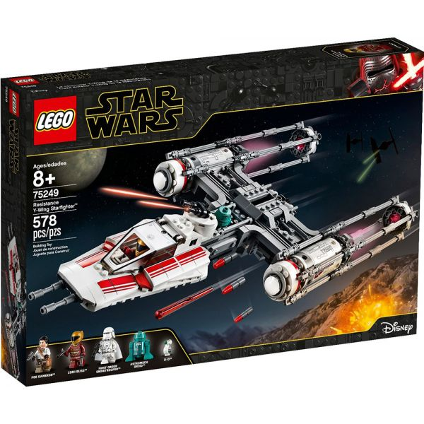 LEGO STAR WARS TM RESISTANCE Y-WING STARFIGHTER