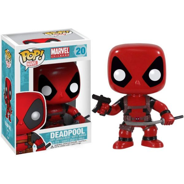 FUNKO POP! ΦΙΓΟΥΡΑ ΒΙΝΥΛΙΟΥ MARVEL DEADPOOL BOBBLE HEAD
